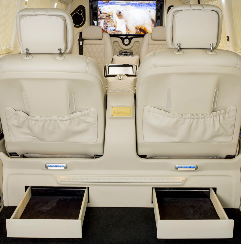 Drawers for the Klassen Excellence Luxury S-Class Single Seats