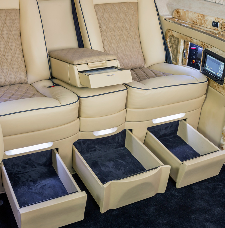 Drawers for the Klassen VIP Luxury S-Class Single Seats