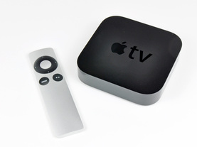 Apple TV with remote control