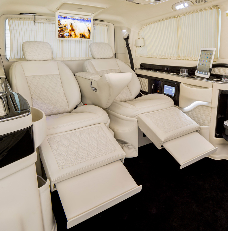 Footrests for the Klassen Excellence Luxury S-Class Single Seats